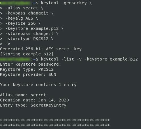 generate secret key